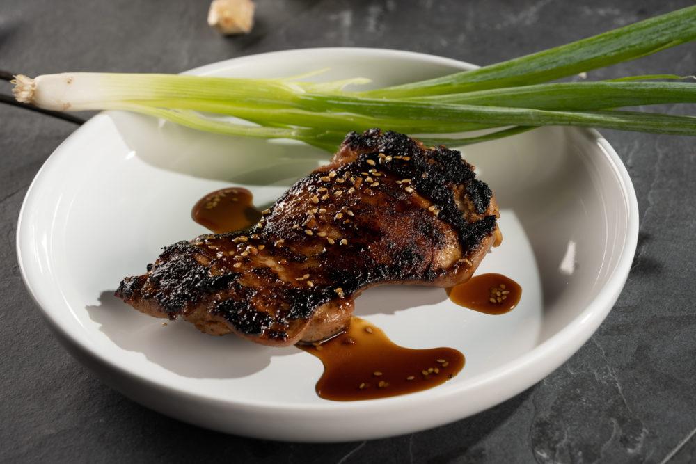 Teriyaki Marinated Chicken Thigh